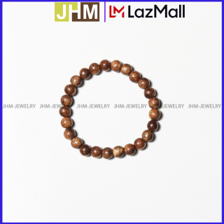 Vòng tay TRẦM HƯƠNG NỮ 6ly, 25 hạt 100% trầm tóc tự nhiên JHM mang lại may mắn, bình an và tài lộc cho người đeo thumbnail
