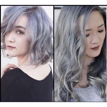 Sáp đôi màu tóc & tạo kiểu tóc Hair Style Wax - màu xám