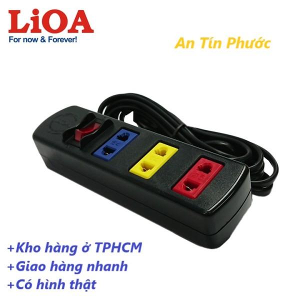 Bảng giá Ổ cắm điện LIOA 3 ổ cắm 3 mét 1000W