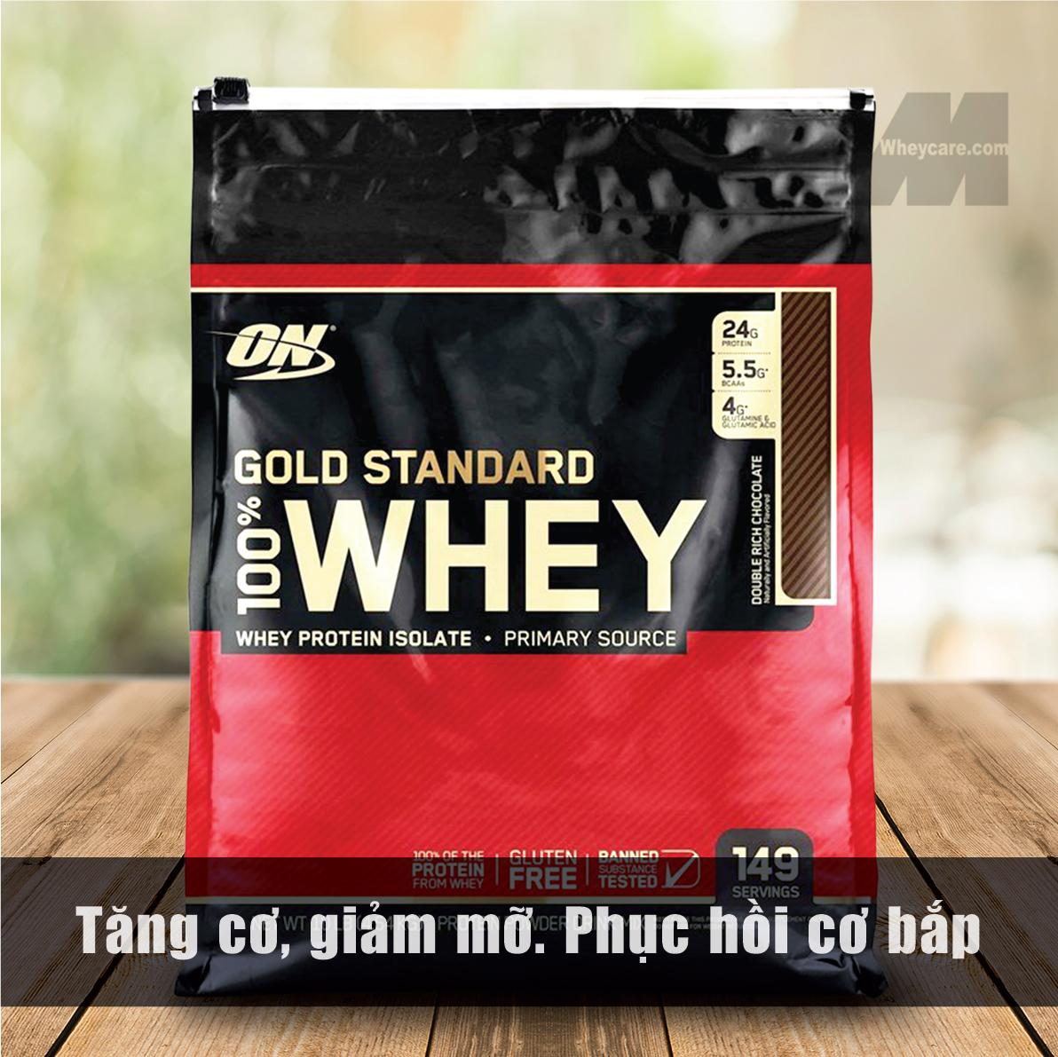 ON GOLD STANDARD WHEY, 10 LBS - 4.54 KG