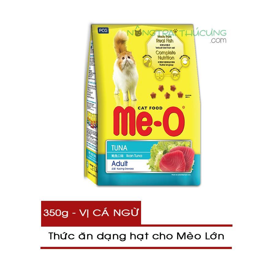 Thức ăn Hạt Cho Mèo Lớn ME-O Gói 350g - Vị Cá Ngừ - [Nông Trại Thú Cưng] Giá Sốc Không Thể Bỏ Qua