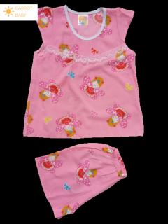 Đồ bộ cho bé gái vải tôn tole lanh loại 1 từ 6kg đến 17kg-hàng Việt Nam -áo cánh tiên cực kỳ dễ thương và thoải mái, thấm hút mồ hôi -Màu ngẫu nhiên- [CARROT BABY SHOP] quan ao tre em quần áo trẻ em do tre em đồ bộ nữ đồ bộ trẻ