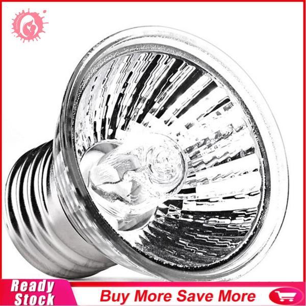 [Domybestshop]Bể Cá Thú Cưng Động Vật Lưỡng Cư Đèn Phơi Sáng Đèn UV Bò Sát Thằn Lằn Sưởi Ấm Bóng Đèn Hình Rùa