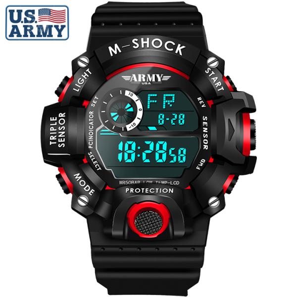 Đồng hồ Trẻ Em ARMY USA - Chống Sốc, Chống Nuốc Tốt, An Toàn Tuyệt Đối Cho Bé bán chạy