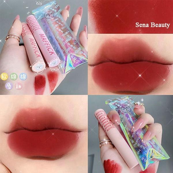 Son Kem Tint Maffick Macarone Lip Glaze Độc Lạ Với Nhiều Tông Màu Đẹp giá rẻ