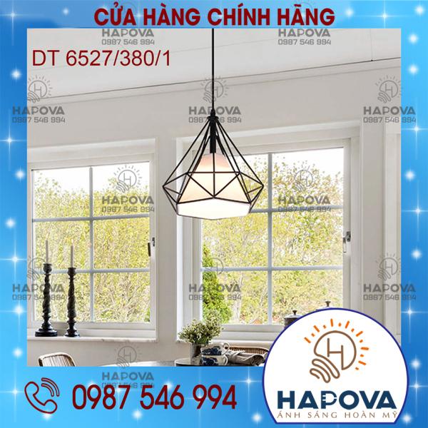 Bảng giá Đèn thả trần hình Kim cương HAPOVA DT 6529 Phi 380 mm