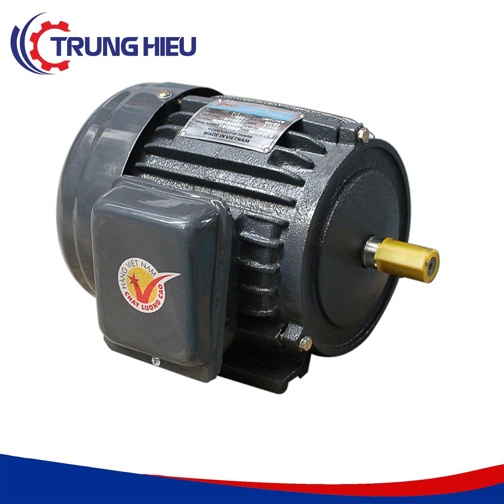 Motor vỏ gang chân đế Hồng Ký HKM314 3HP 220V 1450v/p