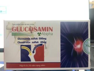Bổ xương khớp Glucosamin Abipha [ Hộp 60 viên ] thumbnail