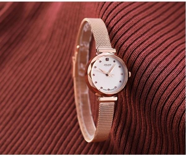 Đồng hồ nữ Julius Hàn Quốc JA-829C dây thép bán chạy