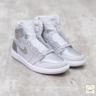 Giày Thể Thao Sneakers Air Jordan 1 CO Japan Neutral Grey (2020) Xám Bạc Cao Cổ Phù Hợp Cho Cả Nam Và Nữ Clever Man Store thumbnail