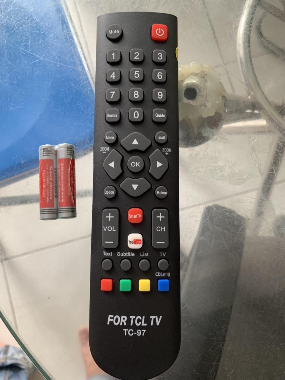 Bảng giá ĐIỀU KHIỂN SMART INTERNET TV - TCL