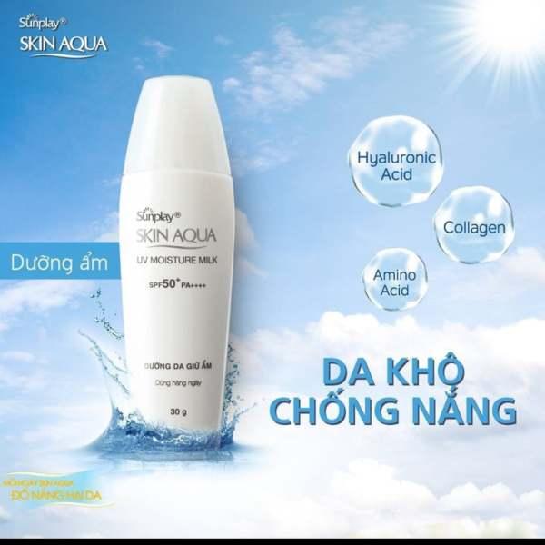 Sữa Chống Nắng Hằng Ngày Dưỡng Da Sunplay Skin Aqua UV Moisture SPF50, PA+++ 25g ⭐ CHÍNH HÃNG ⭐