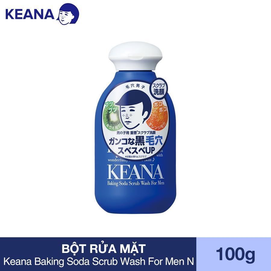 Bột Rửa Mặt Cho Nam Keana Baking Soda Scrub Wash For Men N (100g)