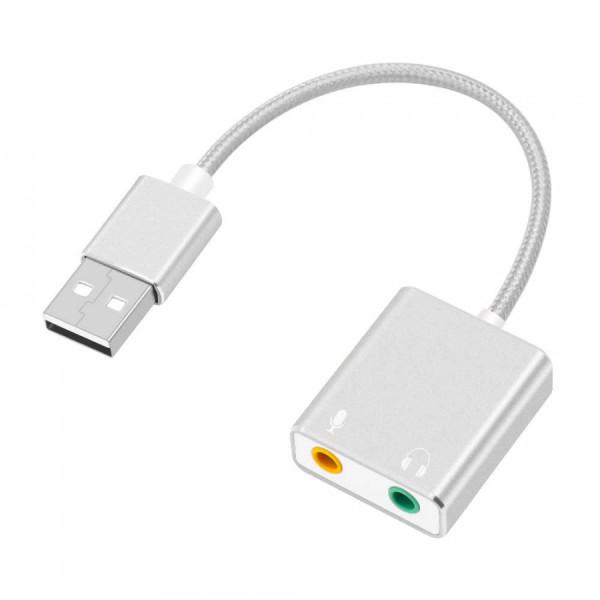 Bảng giá Usb sound card 7.1CH - Usb sound card 7.1 âm thanh 3D - Usb sound card 7.1 Phong Vũ