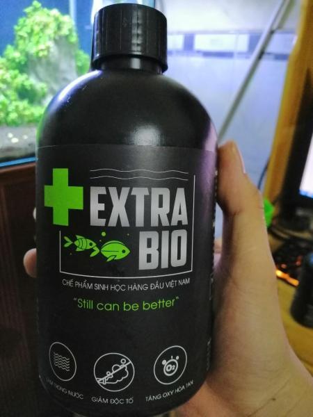 Vi Sinh Làm Trong Nước Bể Cá Cảnh Extra Bio chai dung tích 500ml