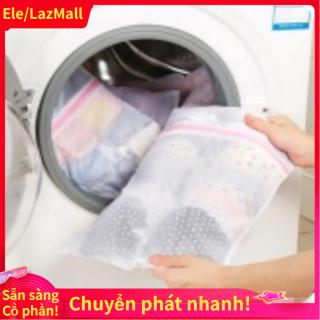 Có sẵn hàng Khóa kéo Quần Lót Bao Giặt Máy Giặt Lưới Quần Áo Tất Đồ Lót Áo Ngực Túi (40 50 cm số 1) -quốc tế thumbnail