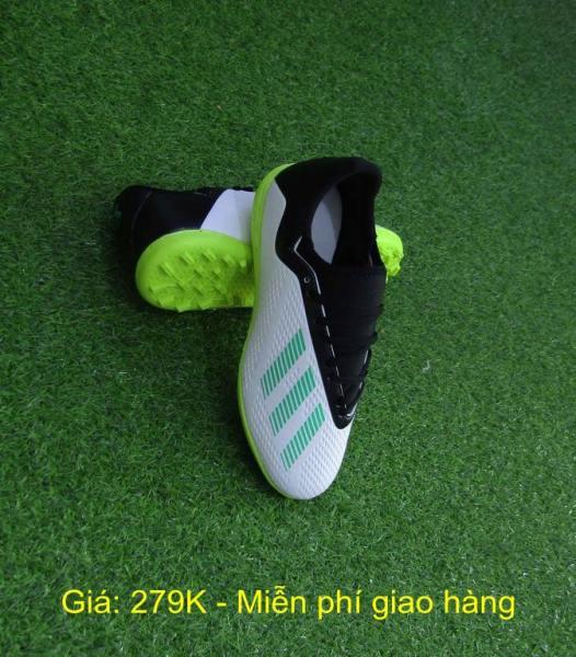 Giày đá bóng sân cỏ nhân tạo - Giày đá banh cổ thun X18.6