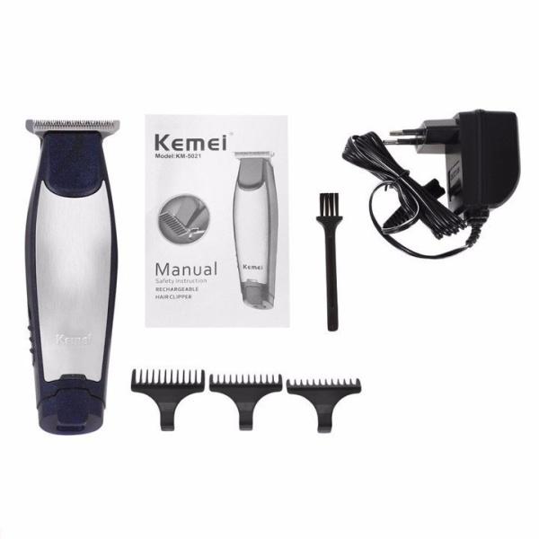 Tông đơ cắt tóc bấm viền công suất 3w kemei KM5021 cao cấp