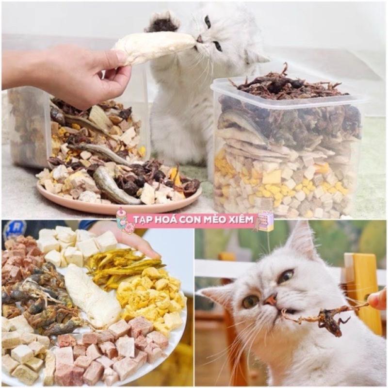 Thịt Hỗn Hợp Sấy Khô 11 Loại thực phẩm tươi ngon dinh dưỡng