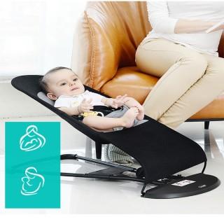 Ghế rung cơ cho bé từ 0 đến 3 tuổi có mặt lưới thoáng cao cấp chịu lực tốt,có vòng khung ghế rộng hơn, Ghế có độ vững tốt hơn, chịu lực tốt hơn, có thể sử dụng cho các bé nặng tới 25KG, Khung ghế bằng thép không gỉ thumbnail
