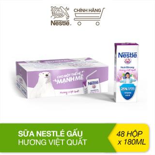 Thùng 48 hộp sữa Nestlé Gấu hương việt quất (48x180ml) thumbnail