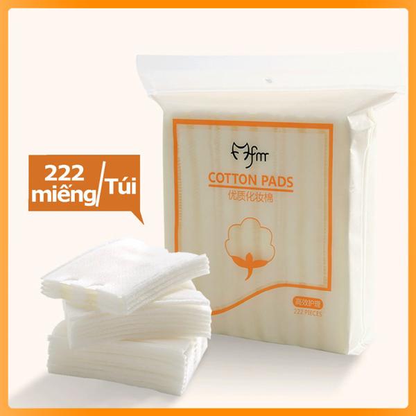 ♥ Bông tẩy trang 222 miếng Silcot Cotton Pads - NuNa Town giá rẻ