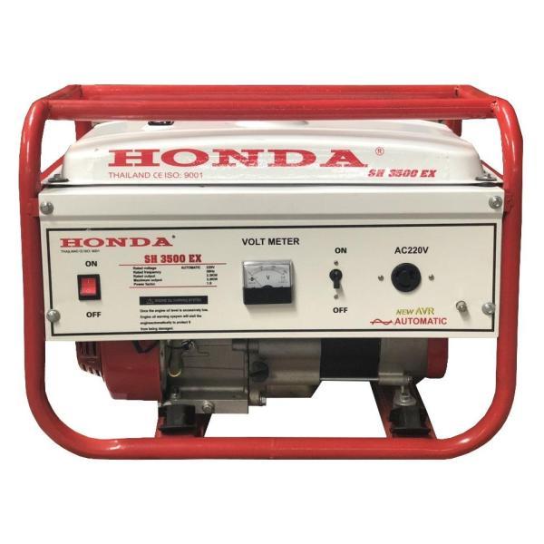 Máy Phát Điện Honda 3KW SH3500C Chạy Xăng Giật Tay