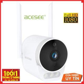 Camera wifi ngoài trời Acesee AC03 có màu ban đêm đàm thoại 2 chiều,hàng chính hãng thumbnail