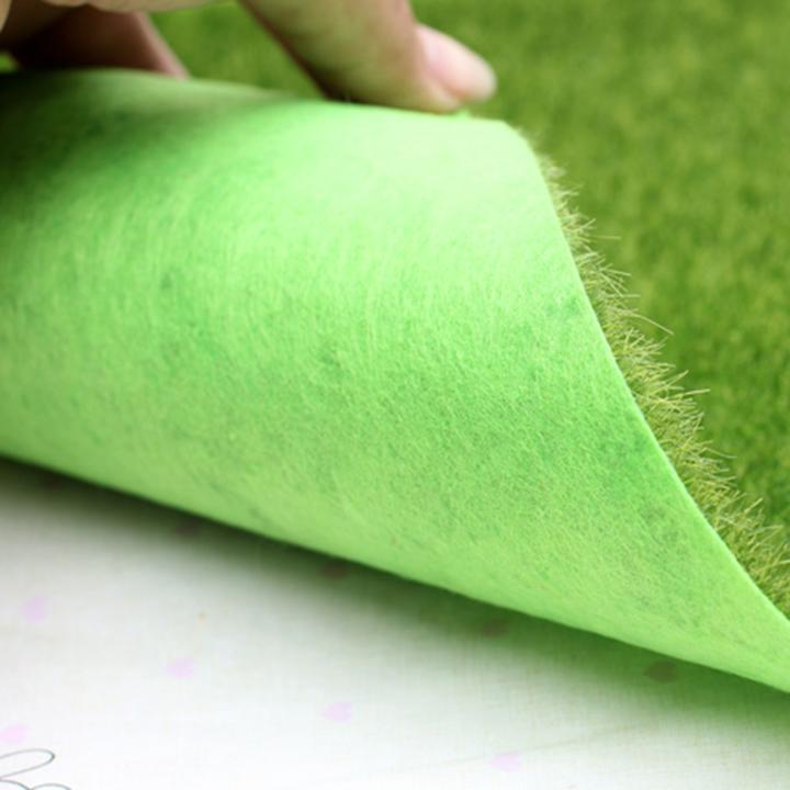 Phụ kiện tiểu cảnh -Thảm cỏ nhân tạo, cỏ giả 30*30 cm - giá của 2 tấm