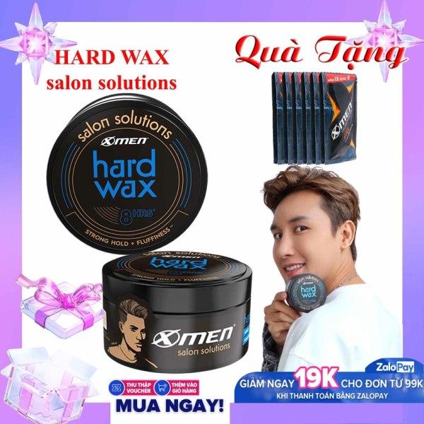 Sáp Xmen Salon Solutions - Hard Wax 70g - Wax Salon Xmen [TẶNG NGAY] 3 Gói Dầu Gội X-Men