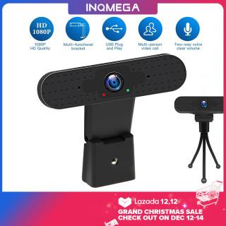 Webcam USB INQMEGA 1080P, Camera PC FHD Có Micrô, Micro Kỹ Thuật Số Máy Tính Xách Tay Máy Tính Để Bàn Webcam Sống Làm Đẹp Tự Động Máy Ảnh Web Skype thumbnail