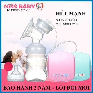 Máy hút sữa điện đơn Miss Baby 9 cấp đô vừa massage vừa kích hút sữa- Thiết kế nhỏ gọn, tháo lắp dễ dàng - Chất liệu cao cấp an toàn tuyệt đối ( Có kèm video hướng dẫn sử dụng) thumbnail