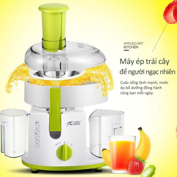 Máy ép trái cây , máy ép nước hoa quả rau củ 2 tốc độ, Bảo hành 12 tháng