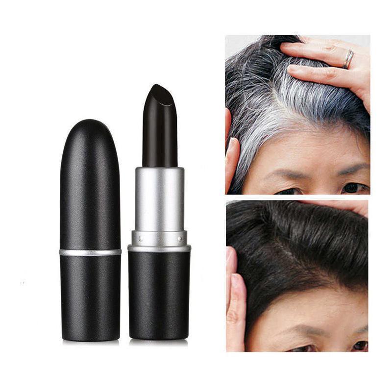 Cây son nhuộm tóc Saion giúp che phủ tóc bạc nhanh chóng, an toàn cho da đầu cao cấp