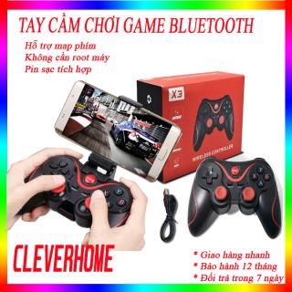 Tay Cầm Chơi Game Bluetooth không dây X3, tay cam choi game-Hỗ Trợ Ứng Dụng Chính Thức, Bộ Điều Khiển Trò Chơi Cho Điện Thoại, IOS, Android, Tay Cầm Chơi Gane PC, TV, Box thumbnail