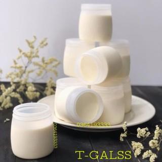 Hũ sữa chua nhựa 160ml 1 chiếc Hũ nhựa làm sữa chua nếp cẩm đẹp dày dặn thumbnail
