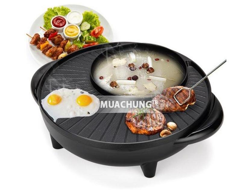 Bảng giá [XẢ KHO 3 NGÀY] Bếp lẩu nướng Hàn Quốc 2 trong 1 đa năng (màu đen) Bảo hành 6 tháng - DH STORE Điện máy Pico