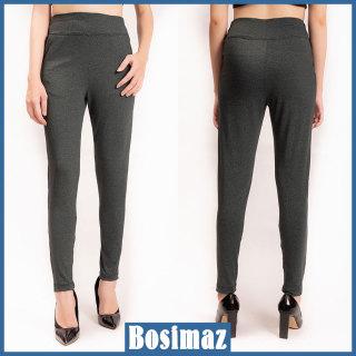 Quần Legging Nữ Bosimaz MS118 dài túi trước màu xám xanh cao cấp, thun co giãn 4 chiều, vải đẹp dày, thoáng mát không xù lông. thumbnail