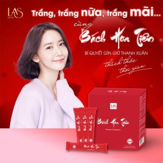 [Chính hãng] Bách Hoa Tiên Las Beauty Đẹp Da - 5 gói dùng thử thumbnail