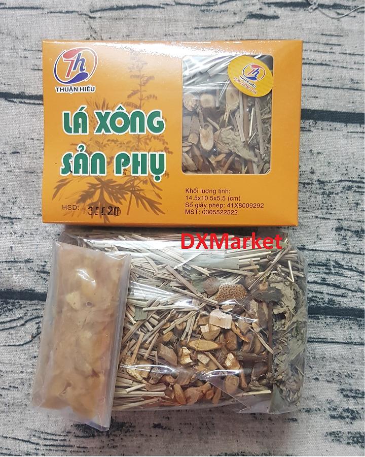 Lá Xông Sản Phụ Sau Sinh Thuận Hiếu Có Tem Chống Giả nhập khẩu