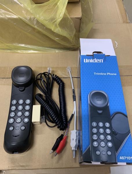 Bảng giá Máy kiểm tra đường dây điện thoại UNIDEN AS7010 Kèm dây đo thử phiến Krone + Kẹp cá sấu Phong Vũ