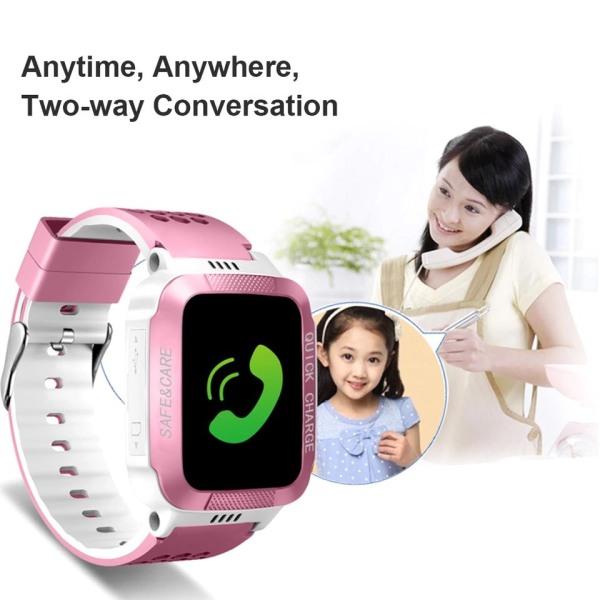 Nơi bán Đồng hồ trẻ em công nghệ xem tin nhắn, xác định khoảng cách vị trí, đếm bước chân, đèn pin - đồng hồ trẻ em cao cấp bảo hành 3 tháng