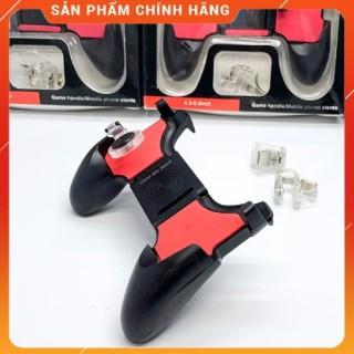 Tay Cầm Chơi Game PUBG, Liên Quân 5 in 1 Dùng Cho Điện Thoại 4.5 - 6.5 inch thumbnail