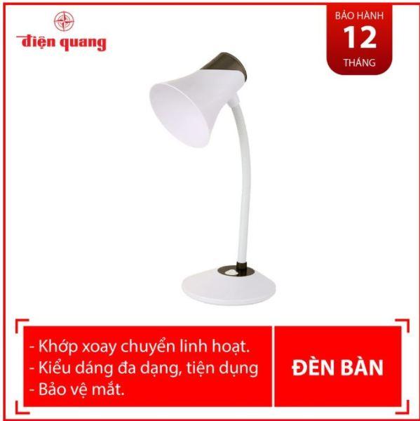 Đèn bàn bảo vệ thị lực Điện Quang ĐQ DKL15 (4 loại màu, 2 loại ánh sáng)