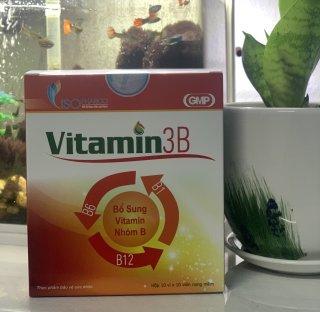 vitamin 3B viên nang mềm Abipha hộp 100 viên thumbnail
