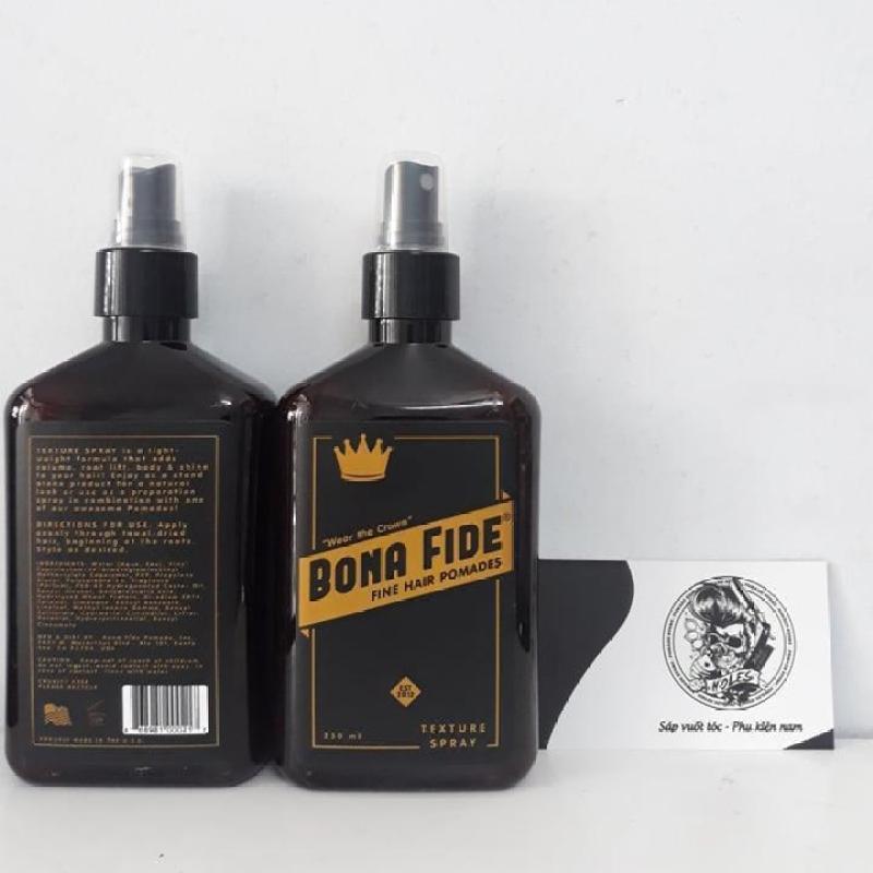 Xịt tạo phồng Bona Fide Texture Spray pre-styling nhập khẩu