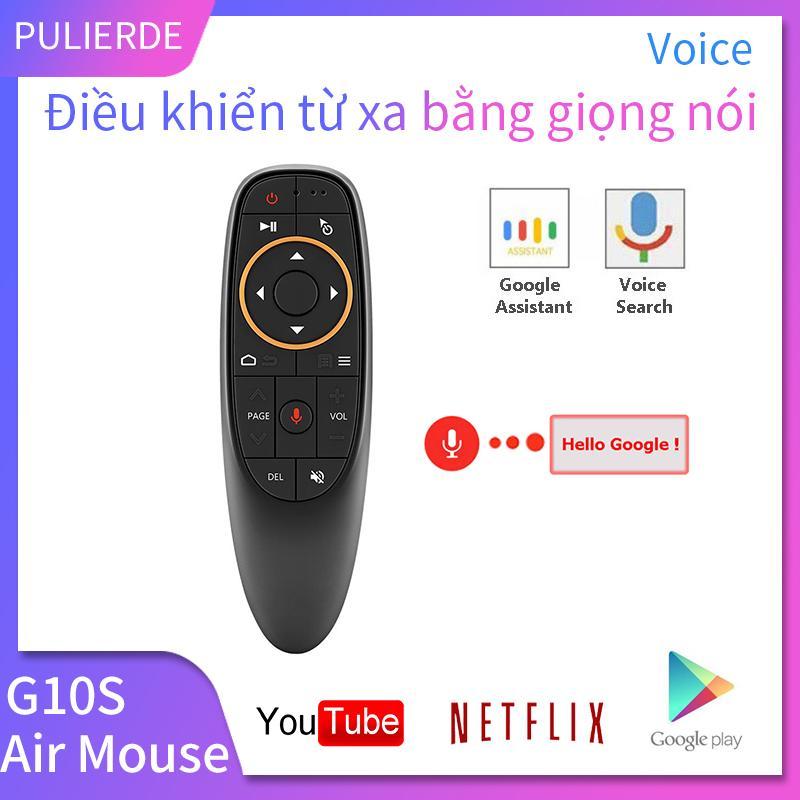 Bảng giá [Hot Sale][Sản phẩm thông minh mới]  Điều khiển từ xa G10S điều khiển bằng giọng nói tích hợp chuột không dây 2.4Ghz kèm con quay hồi chuyển tích hợp Mic chuyên dụng cho Hộp Tivi Android thông minh Điện máy Pico