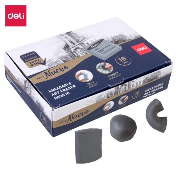 Tẩy đất sét cho mỹ thuật cao cấp Deli - 1 viên - EH02610