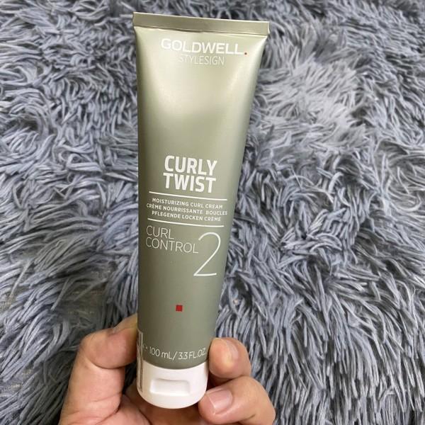 🇩🇪Goldwell🇩🇪Kem tạo kiểu tóc xoăn và dưỡng ẩm Goldwell Curl Control 2 ( Curly Twist) 100ml - S001 giá rẻ