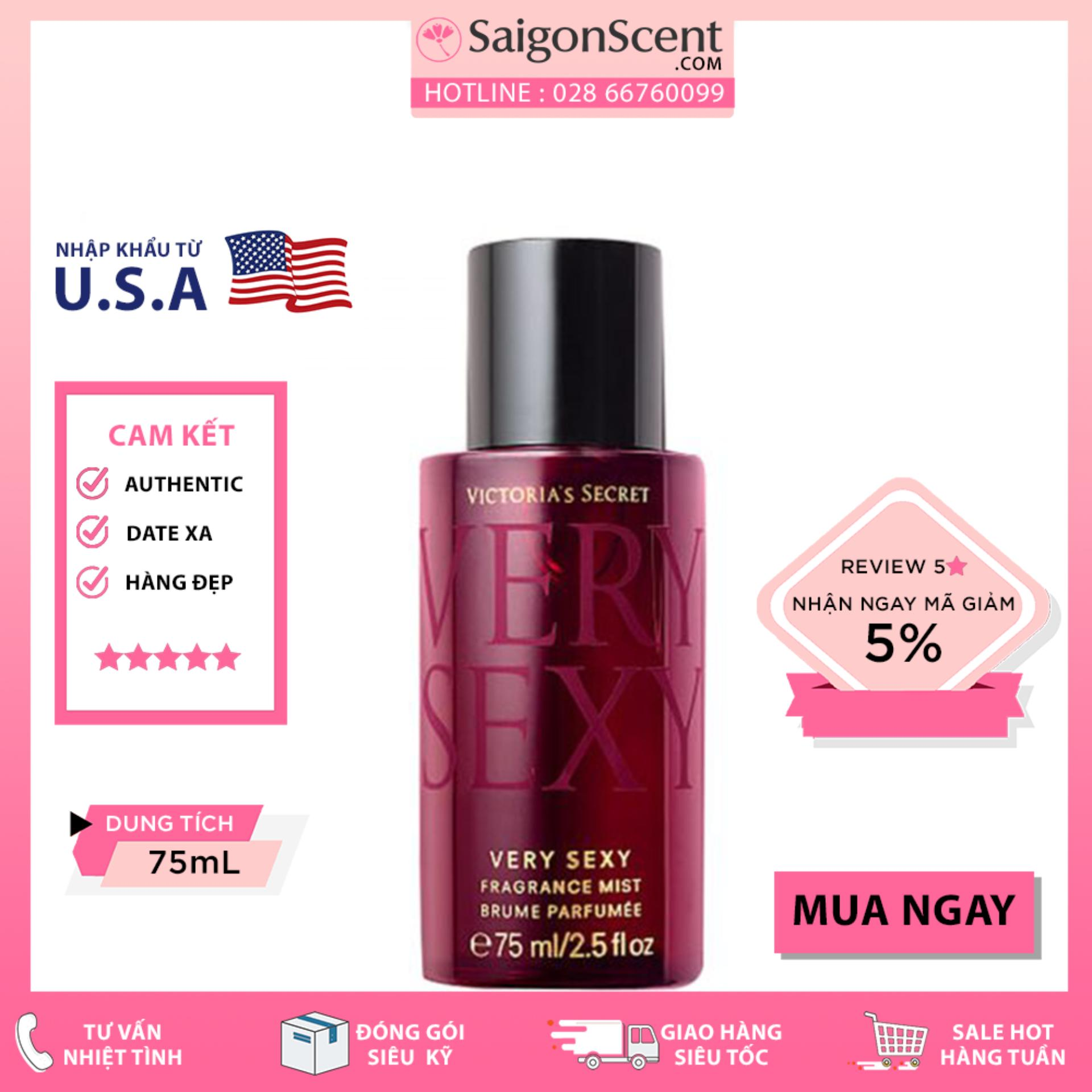 Xịt Thơm Toàn Thân Victoria's Secret Very Sexy Fragrance Mist (75ml)